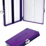 低温保存用スライドグラスボックス 100枚用